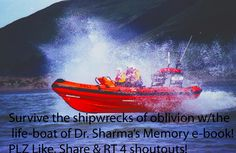 22.Survive the shipwrecks of oblivion w/the life-boat of Dr. Sharma's Memory e-book! PLZ Like, Share & RT 4 shoutouts! Photo courtesy:  users. aber.ac.UK