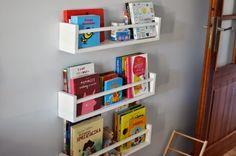 Znalezione obrazy dla zapytania półka na książki montessori jak zrobić