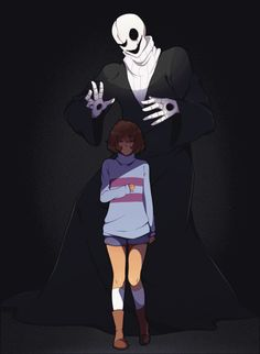 heathazehero: I wanna know more about Gaster!! Bigger/better quality version here because tumblr hates me.