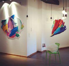 New Layers / Solo exhibition / Cultural Center Parobrod / SHONSKI art and design studio