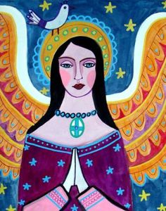 """""""Guardian Angel"""" by Heather Galler of Collect Artwork"""