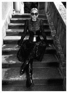 """Piel Sobre Piel"" : Carmen Kass : Vogue Mexico September 2012 : Koray Birand"