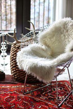 Pele sintética – Uma tendência quando se trata de fugir do frio e tornar sua casa ainda mais encantadora.
