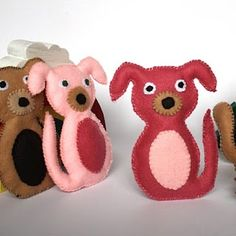 Cute felt animals #diy #crafts