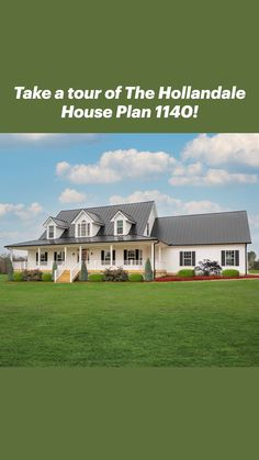 Barn House Plans, Country House Plans, Dream House Plans, Home Floor Plans, Ranch House Plans, Country Farmhouse Exterior, Modern Farmhouse Floor Plans, Farmhouse Homes, Villa Plan