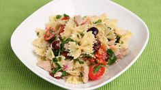 Italian Tuna Pasta Salad Recipe - Laura Vitale