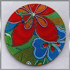 Сувенирная подставка под чашку Цветок
