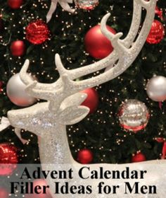 25 advent calendar filler ideas and inspiration for all ages. Great ideas for those creating advent calendars for loved ones.