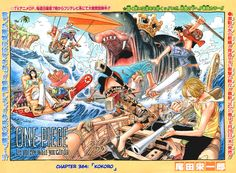 """""""Straw Hats at sea with a large hippo in the background"""""""