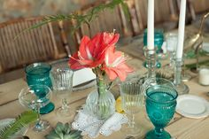 Wedding Decor by Carmen Rebuelta Photography Bárbara Vidal Tropical vintage wedding