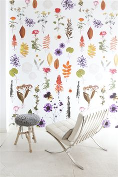 Floral Wallpaper / Onszelf