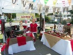 Craft+Fair+Booth+Display+Ideas | My tent display at a recent event
