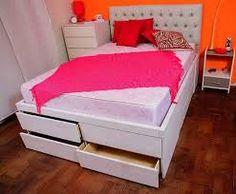 Resultado de imagen para camas 200x200 con cajones