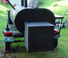 Fuel oil tank smoker ideas..... - The BBQ BRETHREN FORUMS.