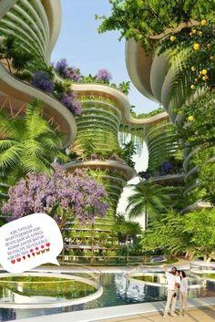 Architecture Durable, Architecture Design, Romanesque Architecture, Cultural Architecture, Education Architecture, Green Architecture, Futuristic Architecture, Sustainable Architecture, Residential Architecture