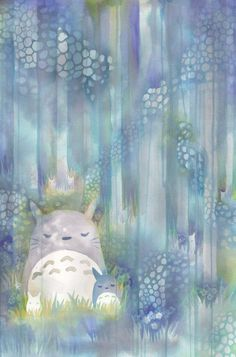 Totoro by QueenofCuriosity on deviantART