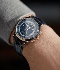 World Time Chronograph Expensive Watches, Most Expensive, Patek Philippe, Luxury Watches For Men, Watch Brands, Breitling, Omega Watch, Chronograph, Accessories