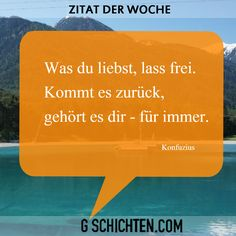 Zitat der Woche ;) Quote Of The Week, World, Quotes