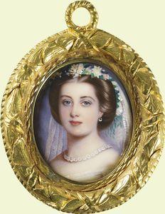 Victoria, Princess Royal 1859 Queen Victoria Children, Queen Victoria Family, Queen Victoria Prince Albert, Victoria And Albert, Princesa Victoria, Princess Louise, Miniature Portraits, Oil Portrait, Royal House