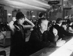 The Overlook Hotel — Jack Nicholson with Stanley Kubrick's daughter,...