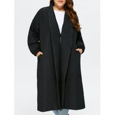 SHARE & Get it FREE | Back Slit Plus Size Quilted JacketFor Fashion Lovers only:80,000+ Items • FREE SHIPPING Join Twinkledeals: Get YOUR $50 NOW!