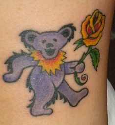 Eva sent in two pictures of her two Dancing Bear tattoos. This ...
