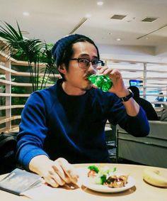 Steven Yeun photographed by Joana Pak 2015