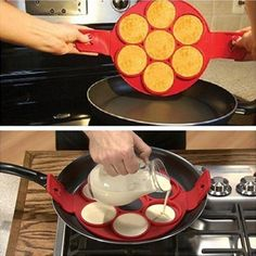 Non Stick Flippin' Pancake Maker – Midnight Azure