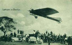 Latham in Berlin, um 1911.