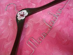 Bridal Hangers Painted By Original Bridal by OriginalBridalHanger, $25.00