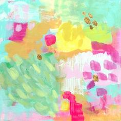 Rhubarb Mint Sorbet Canvas Print