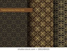 Find Thailand Basic Seamless Pattern Style stock images in HD and millions of other royalty-free stock photos, illustrations and vectors in the Shutterstock collection. Thai Design, Thai Pattern, Thai Style, Pattern Images, New Pictures, Royalty Free Photos, Pattern Fashion, Thailand, Create Yourself