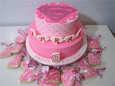 Hannah's supergirl cake