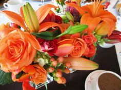 Fall Wedding Bouquets   Richly hued textural designs are the hottest flower arrangements for ...