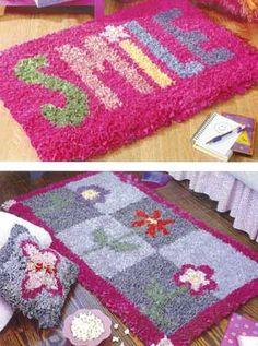 latch hook rug patterns - Google Search