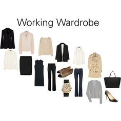 """Working Wardrobe"" by feminiteavenue on Polyvore"