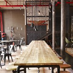 Industrial home, Hipster Cafe: Turn Your Home Into A Hipster Cafe – Naiise.com