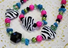 NEW Sweet Pea little girl necklace and bracelet set by dondalees, $16.00