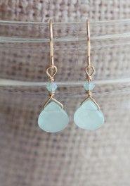 foaming seas indie earrings.....jewelry