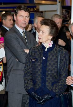 Princess Anne, Princess Royal and Timothy Laurence attend the London Boat Show at ExCel on 14.01.2015 in London, England