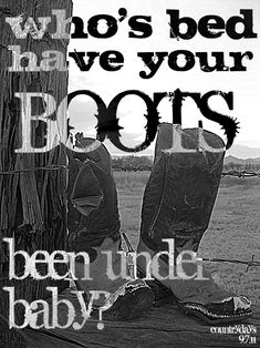 shania twain - who's bed have your boots been under