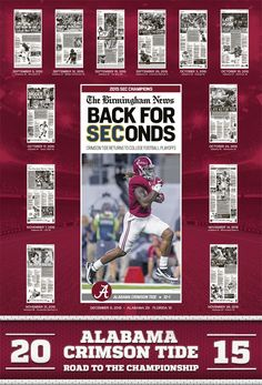 2015 SEC Championship Poster - Derrick Henry Alabama Football Team, College Football Coaches, Crimson Tide Football, University Of Alabama, Alabama Crimson Tide, Derrick Henry Alabama, Sec Championship, Heisman Trophy, Nick Saban