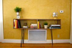 Modern Walnut Sideboard or Sofa Table by TravisHayesFurniture, $460.00