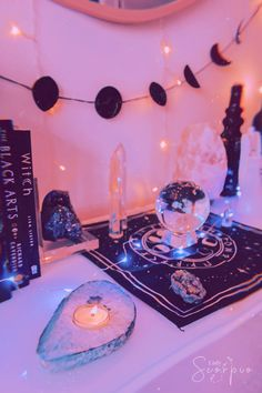 Home Decor Ideas Vintage Altar.Home Decor Ideas Vintage Altar Aesthetic Room Decor, Witch Aesthetic, Aesthetic Space, Boho Aesthetic, Aesthetic Dark, Aesthetic Pastel, Aesthetic Fashion, Pastel Decor, Cristal Art