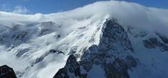 Blick vom Gipfel auf den Biancograt
