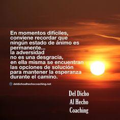 La adversidad no es una desgracia!   #Coaching #DesarrolloHumuano #InteligenciaEmocional #Bienestar