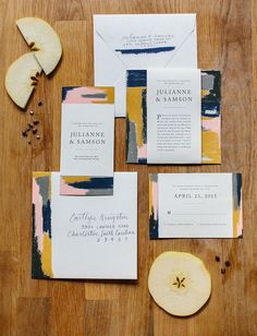 opal apple invitation