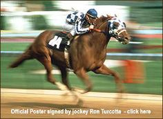 Secretariat - if you ever saw him run you'd know he was ART