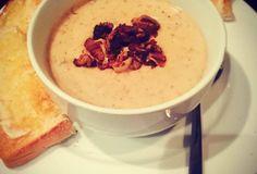 biltong and mushroom soup