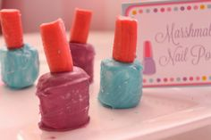 The Larson Lingo: Kate's Nail Salon Birthday Party